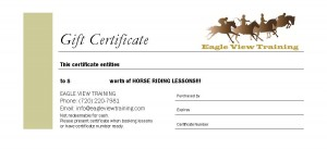 EVT Gift Certificate